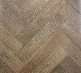 600mm x 120mm Herringbone Oak Picasso Brushed & Matt Lacquer