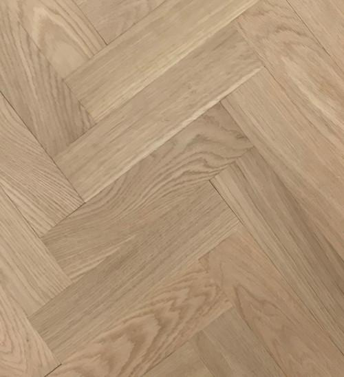 280mm x 70 mm Herringbone Oak Prime Grade Unfinished