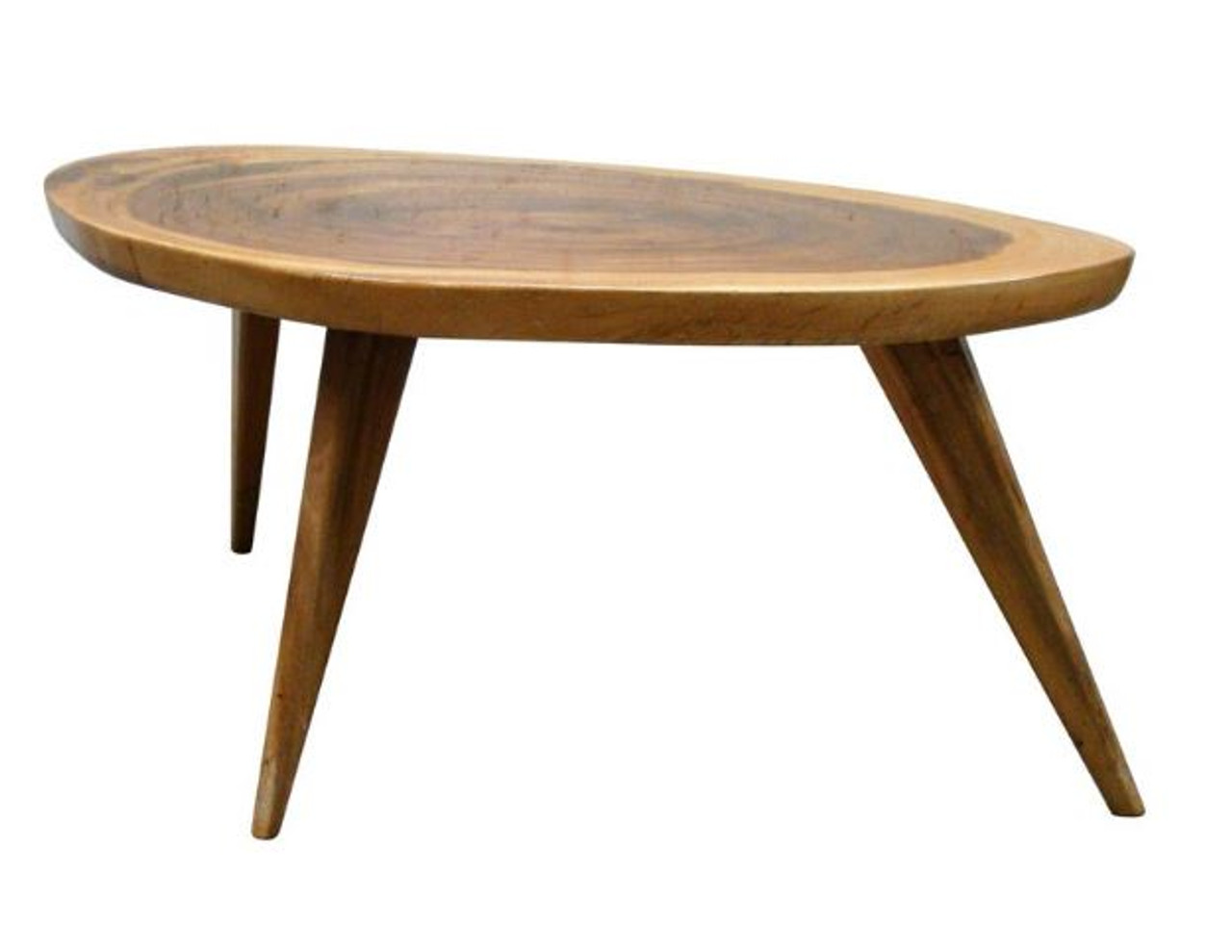 Vintage 1950 S Live Edge Monkeypod Wood Coffee Table Or Low Side