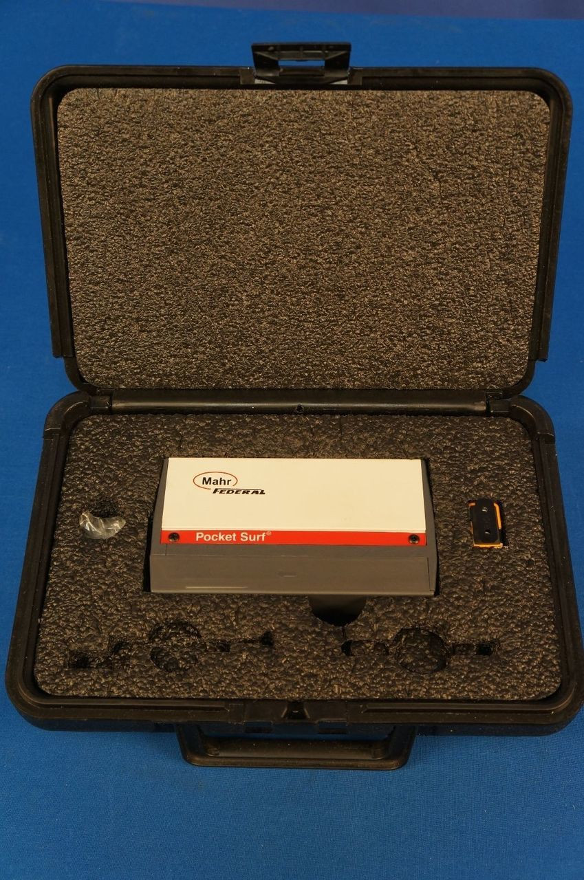 Mahr Federal Pocket Surf 3/Surface Finish/Roughness/Tester/Profilometer  Warranty EMD-1500-322