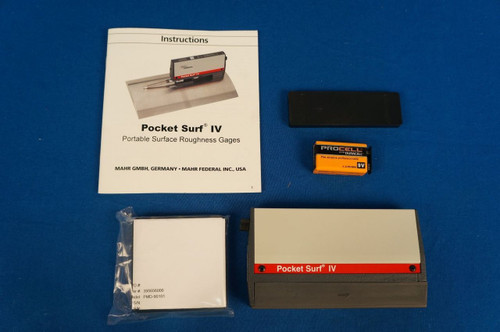 NEW MAHR Pocket Surf IV/Surface Finish/Roughness/Tester/Profilometer  Warranty 2191802