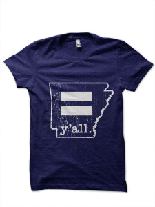 Youth Arkansas Equality y'all T-Shirt
