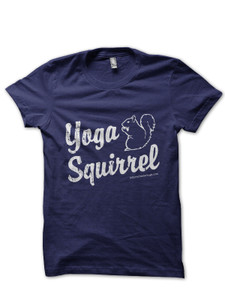 Yoga Squirrel T-Shirt