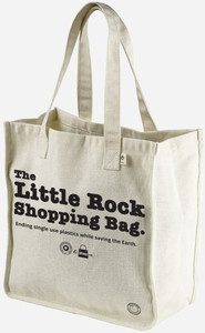 Little Rock Shopping Bag Hemp Market Tote | Arkansas: The Natural State
