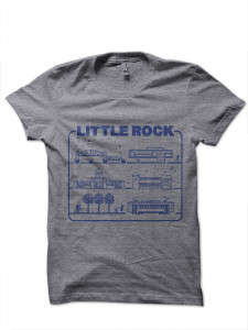 Little Rock Adult Tee
