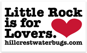 Little Rock is for Lovers - Premium Sticker (3x5)
