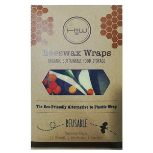 H2W Beeswax Wraps - Multi Pack