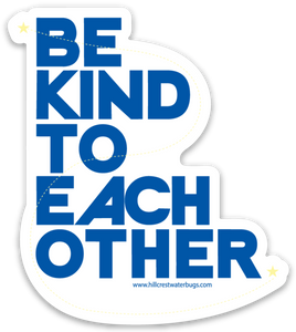 Be Kind | Blue Sticker