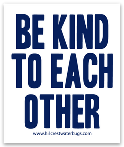 Be Kind | Navy Sticker