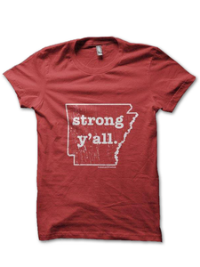 Arkansas Strong y'all. T-Shirt