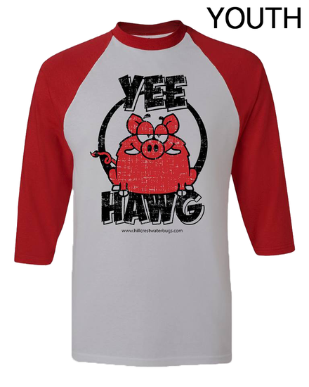 Yee Hawg YOUTH Baseball Tee