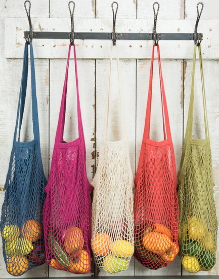 H2W   French String Bag - Long Handle