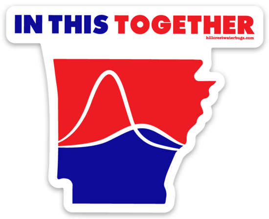 In this Together | Hillcrest Waterbugs Sticker