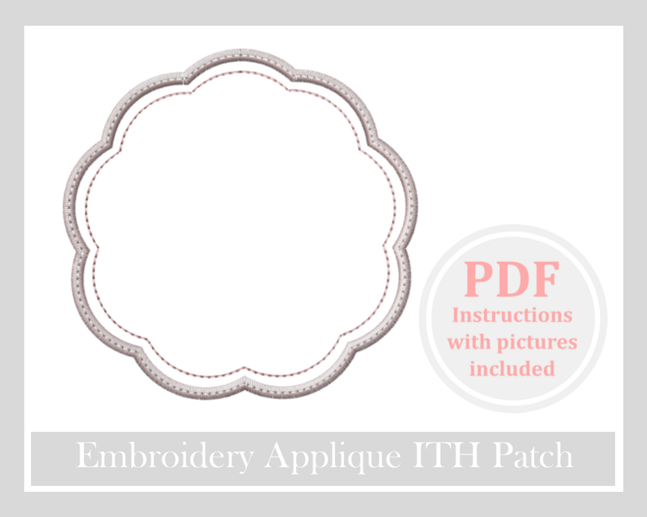 applique patch design