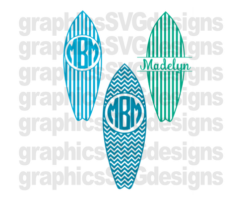 f4909d333d42 Summer Monograms Beach Monogram DIGITAL DOWNLOAD- SVG