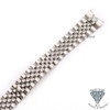 21mm Solid Steel Jubilee Bracelet Band For Rolex Datejust Watches + Tools
