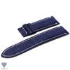 24mm Dark Blue Real Alligator Crocodile Handmade Straps For Panerai Watches