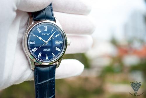 Seiko Presage Blue Enamel Limited edition of 1,500 pcs SPB069 Watches