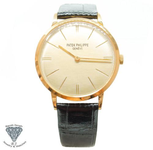 Patek Philippe Calatrava 3468 18k Yellow Gold Watch Cal 23-300 + Archives 1967