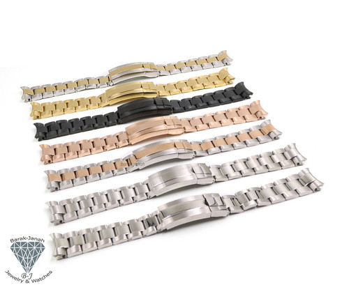 21mm Oyster Bracelet Band For Rolex Watches + Tools