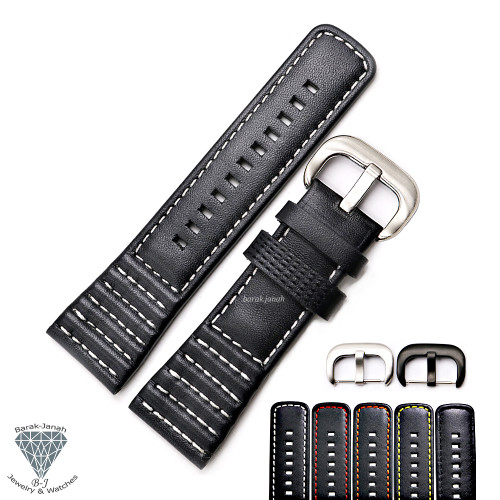 28mm Genuine Leather Straps For SevenFriday Watches With Buckle + Tools