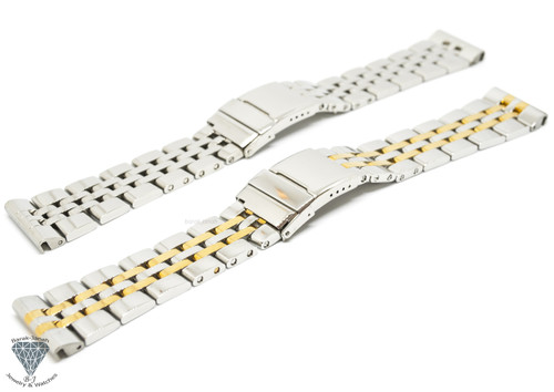 Solid Steel Bracelet Watch Band For Breitling Watches + Tools