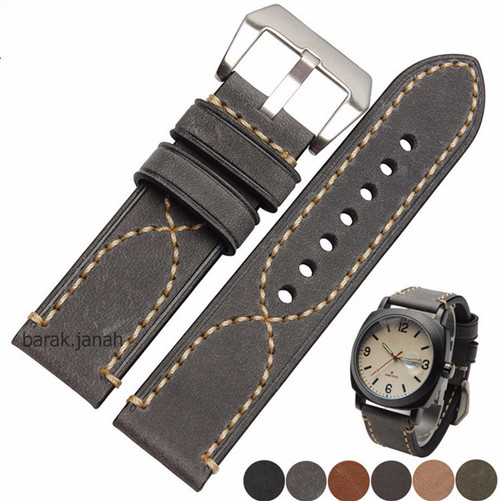 Genuine Leather Straps With buckle + Tools