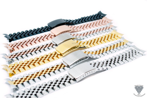 Jubilee Bracelet Band For Vintage Rolex Watches + Tools