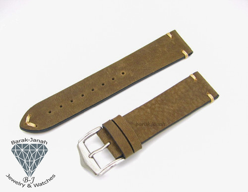 Homemade Vintage Leather Straps with Buckle  + Tool