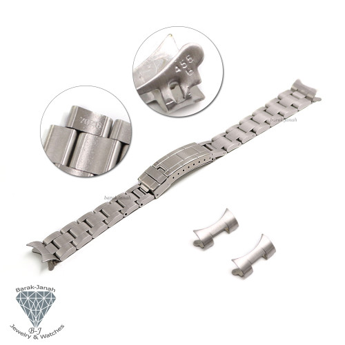 20mm Bracelet For Rolex Yacht-Master Watches Flip Lock Clasp + Tools