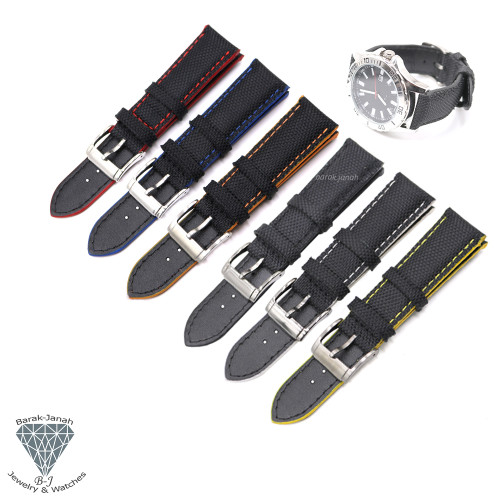 Canvas Straps For Watches with Buckle + Tools