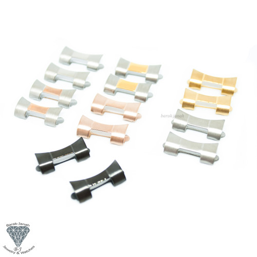 Hollow End Link For Oyster Bracelet Band For Rolex Watches - All size All Color