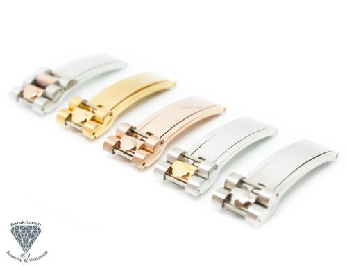 16mm Deployment Buckle Clasp For Rolex President Bracelet Band - lug 20mm