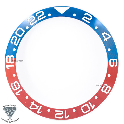 Blue Red Ceramic Bezel Insert For Rolex GMT Master II Pepsi 126710BLRO Watches
