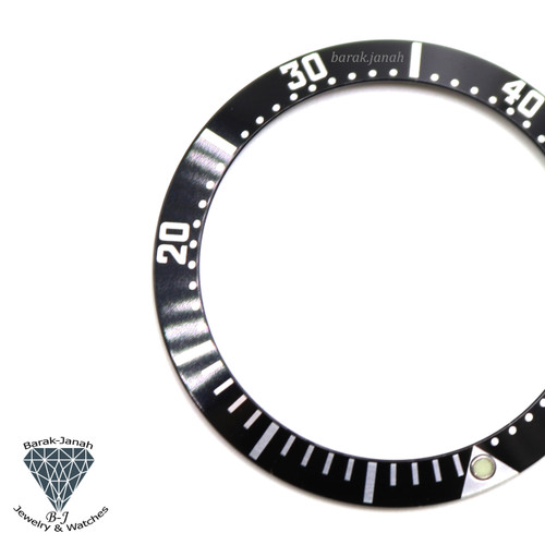 Black Bezel Insert for Omega Seamaster 36mm watches 2252 50 Black