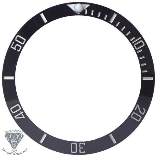 Black White Ceramic Bezel Insert for Seiko SKX007 Watches MOD