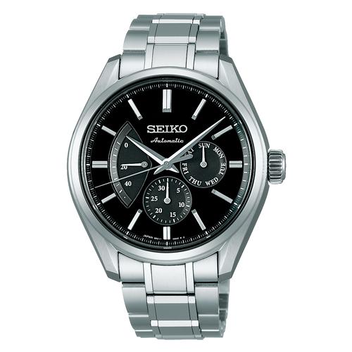 Seiko Presage Automatic Chronograph Power Reserve Japan Made SARW023 Men's Watch