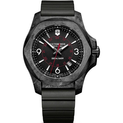 Mens Victorinox Swiss Army INOX Carbon Watch 241777