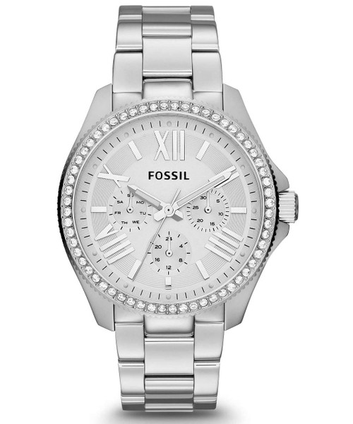 Fossil Cecile Multifunction Crystal Stainless Steel AM4481 Women's Watch