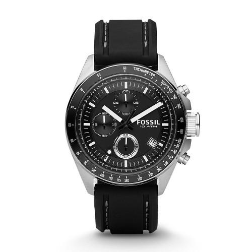 Fossil Decker Chronograph Silicone CH2573 Men's Watch