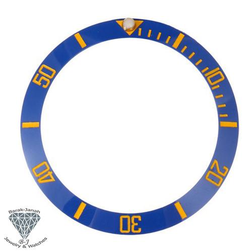 Blue Gold Ceramic Bezel Insert for Seiko SKX007 Watches MOD