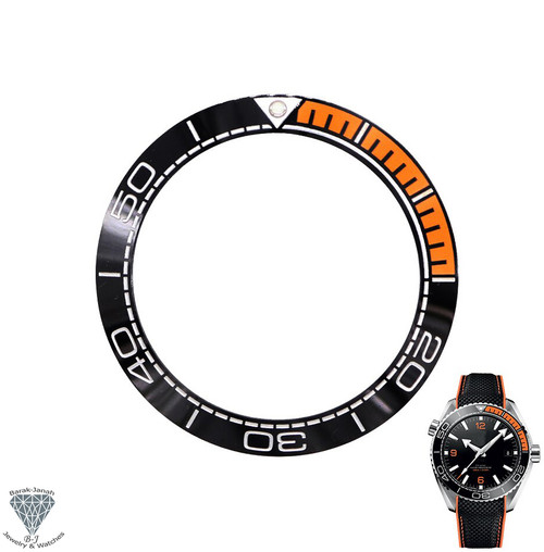 Replacement Ceramic Bezel Insert For Omega Seamaster Planet Ocean 600m 215.30.44.21.01.001 215.30.44.21.01.002