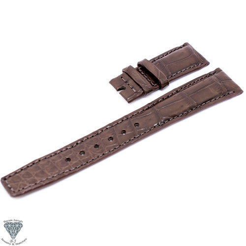 20mm Brown Croco Handmade Straps For IWC Portuguese Watches