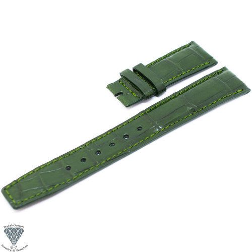 20mm Green Handmade Straps For IWC Portuguese Watches