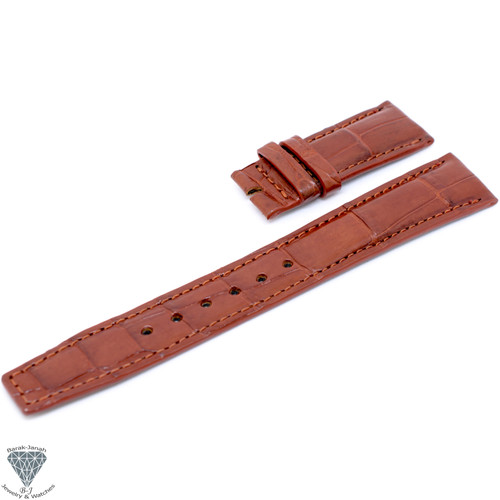 20mm Tan Handmade Straps For IWC Portuguese Watches