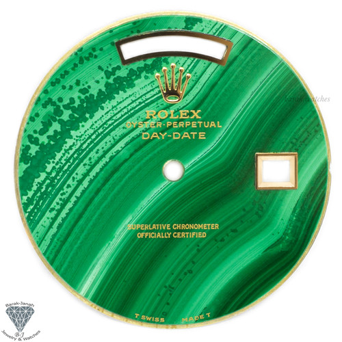 Rolex Malachite Stone Dial For Rolex Day-Date Caliber 3155 3055