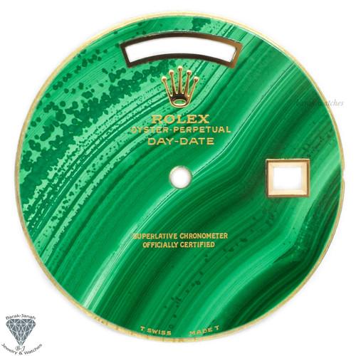 Rolex Malachite Stone Dial For Rolex Day-Date Caliber 3155 3055