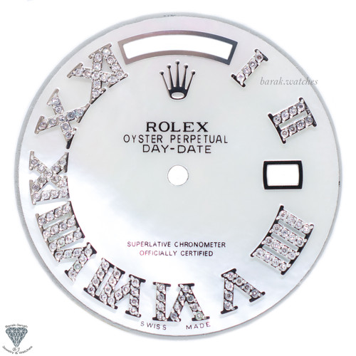 Rolex MOP Diamond Dial For Rolex Day-Date