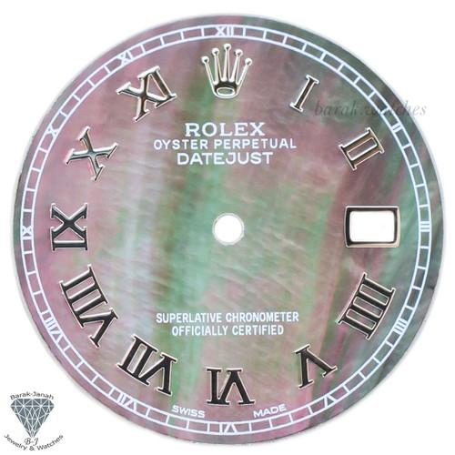 Rolex Roman MOP Dial For Rolex DateJust 36mm Caliber 3035 3135 - Silver