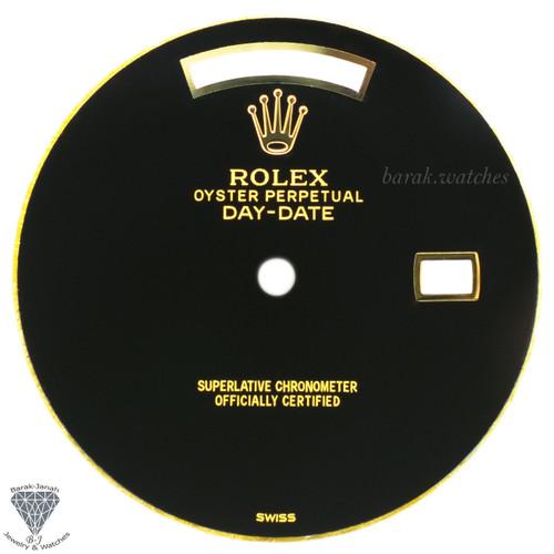 Custom Black Rolex Onyx Stone Dial